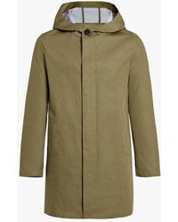 Mackintosh Storm System Cotton Hooded Coat | Gm-007b/sh - Green
