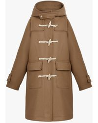 Mackintosh Inverie Camel Wool Duffle Coat | Lm-1016 - Brown