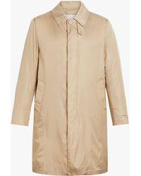 Mackintosh Dunkeld Beige Nylon 3/4 Coat Gm-001bs - Brown