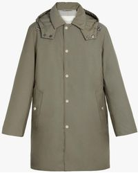 Mackintosh Dunoon Hooded Padded Coat - Green