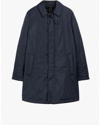 Mackintosh Imperial Midnight Blue Nylon Thermal Short Coat Gmc-10
