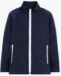 Mackintosh Mairi Navy Nylon Jacket Lms-062 - Blue