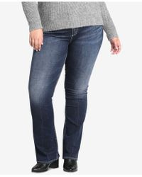 Silver Jeans Co. - Plus Size Avery High-rise Curvy-fit Boot-cut Jeans - Lyst