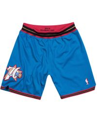 f59636f32 Mitchell & Ness Minnesota Timberwolves Authentic Nba Shorts in Black ...