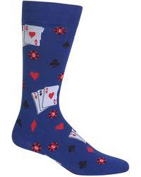 Hot Sox | Gambling Dress Socks | Lyst