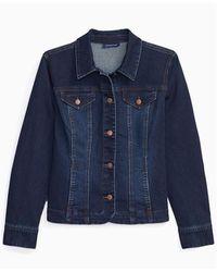 Charter Club Denim Jacket, Created For Macy's - Blue