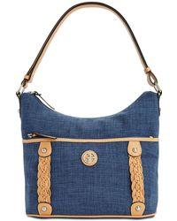 Giani Bernini - Braided Linen Hobo, Created For Macy's - Lyst
