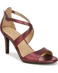 Naturalizer Kyra Stiletto Leather Sandals - Multicolor