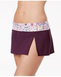Bleu Rod Beattie - Side-slit Swim Skirt - Lyst