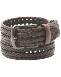 Columbia Two-tone Braided Belt - Multicolor