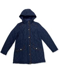 Charter Club Quilted Jacket, Created's For Macy's - Blue