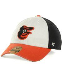 47 Brand Baltimore Orioles Franchise Cap - White