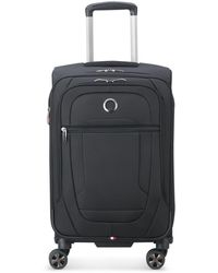 "Delsey Helium Dlx 22"" Softside Carry-on Spinner, Created For Macy's - Black"