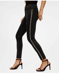 Mango - Skinny Sparkle Jeans - Lyst