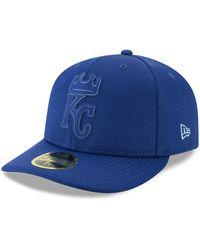 the latest 55dc2 e91d5 KTZ Kansas City Royals 9fifty Snapback Cap in Blue for Men - Lyst