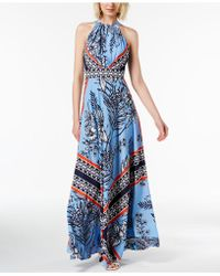 INC International Concepts - I.n.c. Printed Maxi Dress, Created For Macy's - Lyst