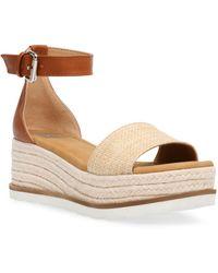 DV by Dolce Vita Baker Flatform Treaded Sandals - Multicolour