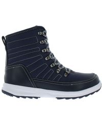 Khombu Elsa Waterproof Winter Boots - Blue
