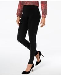 Hue - ® Brushed Seamless Leggings - Lyst