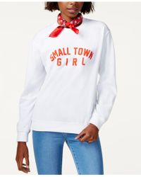 Sub_Urban Riot - Small Town Girl Graphic Sweatshirt - Lyst