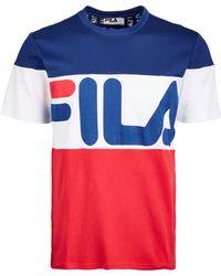 Fila - Vialli Colorblocked T-shirt - Lyst