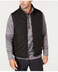 Hawke & Co. Quilted Vest, Created For Macy's - Black