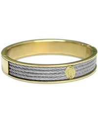 Charriol - Cable Two-tone Bangle Bracelet In Stainless Steel & Gold-tone Pvd Stainless Steel - Lyst