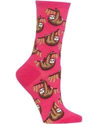 Hot Sox - Sloth Socks - Lyst