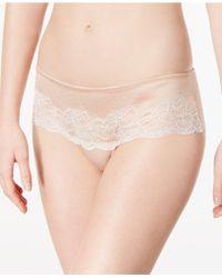 Wacoal | Lace Affair Scalloped Tanga 845256 | Lyst