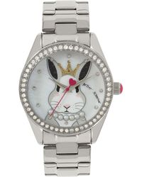 Betsey Johnson - Bunny Rabbit Motif Dial Watch - Lyst