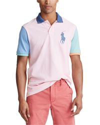 Polo Ralph Lauren - Multi-color Big Pony Mesh Polo Shirt - Lyst