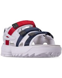 Fila - Disruptor Athletic Sandals From Finish Line - Lyst