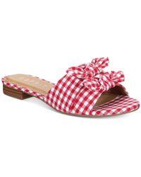 Esprit - Kenya Slip-on Flat Sandals - Lyst