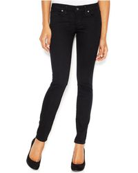 Guess - Low-rise Skinny Jeans, Silicone Wash - Lyst
