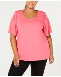 Hue - ® Plus Size Bell Ruffled-sleeve Sleep Top - Lyst