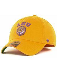 47 Brand - Lsu Tigers Ncaa '47 Franchise Cap - Lyst