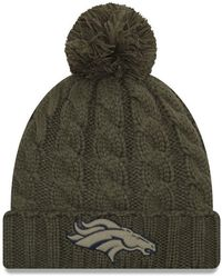 4e7e52570 Lyst - KTZ San Francisco 49ers Salute To Service Pom Knit Hat in Green