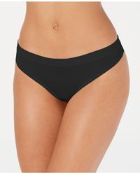 Alfani Ultra Soft Mix And Match Thong Underwear, Created For Macy's - Black
