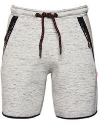 Superdry Gym Tech Stretch Shorts - Gray