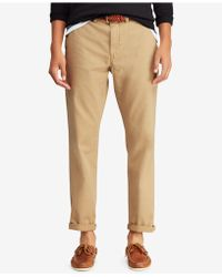 Polo Ralph Lauren - Classic-fit Flat Front Bedford Chino Pants - Lyst