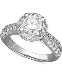 X3 - Certified Diamond Ring In 18k White Gold (1-1/2 Ct. T.w.) - Lyst