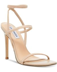 Steve Madden Nectur Stretch Dress Sandals - Natural