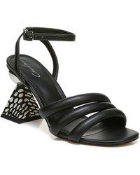 Circus by Sam Edelman Bobbie Architectural-heel Dress Sandals - Black