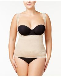 Maidenform Firm Foundations Curvy Plus Size Firm Control Lace-hem Torsette Dm1026 - Multicolour