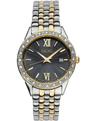 Seiko - Women's Special Value Two-tone Stainless Steel Bracelet Watch 28mm - Lyst