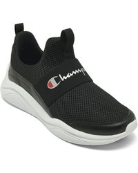 Champion Legacy A Slip-on Casual Sneakers From Finish Line - Black