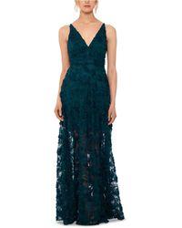 Xscape - Floral Lace Gown - Lyst