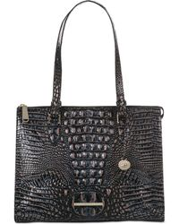 Brahmin - Melbourne Anywhere Embossed Leather Tote, Created For Macy's - Lyst
