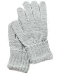 Style & Co. Rib Solid Gloves With Lurex, Created For Macy's - Gray