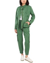 Vince Camuto Stand-collar Jacket - Green